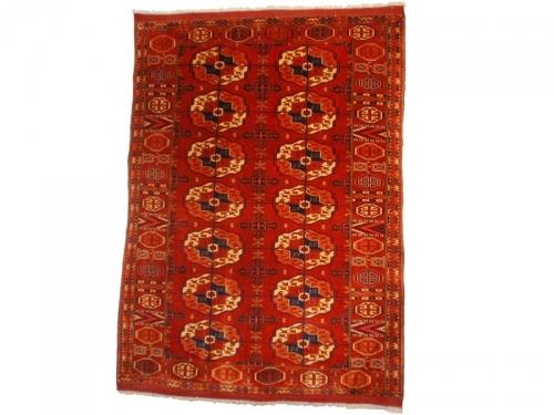 tapis d 39 orient fabriqu s par des tribus nomades boukhara 165x123 galerie tapis emir lyon. Black Bedroom Furniture Sets. Home Design Ideas